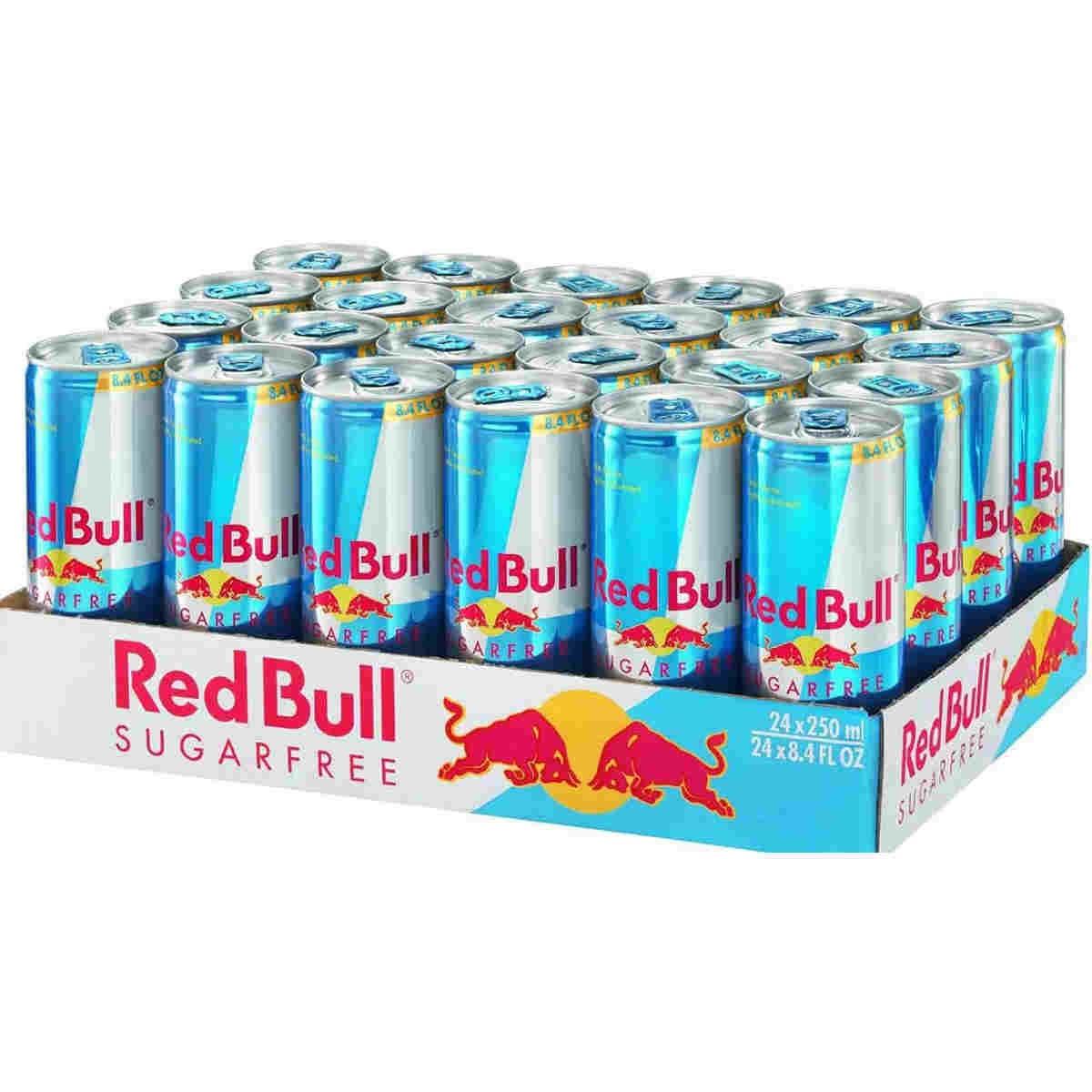 red bull energy drink senza zucchero lattina cl25 x 24 pz. Black Bedroom Furniture Sets. Home Design Ideas