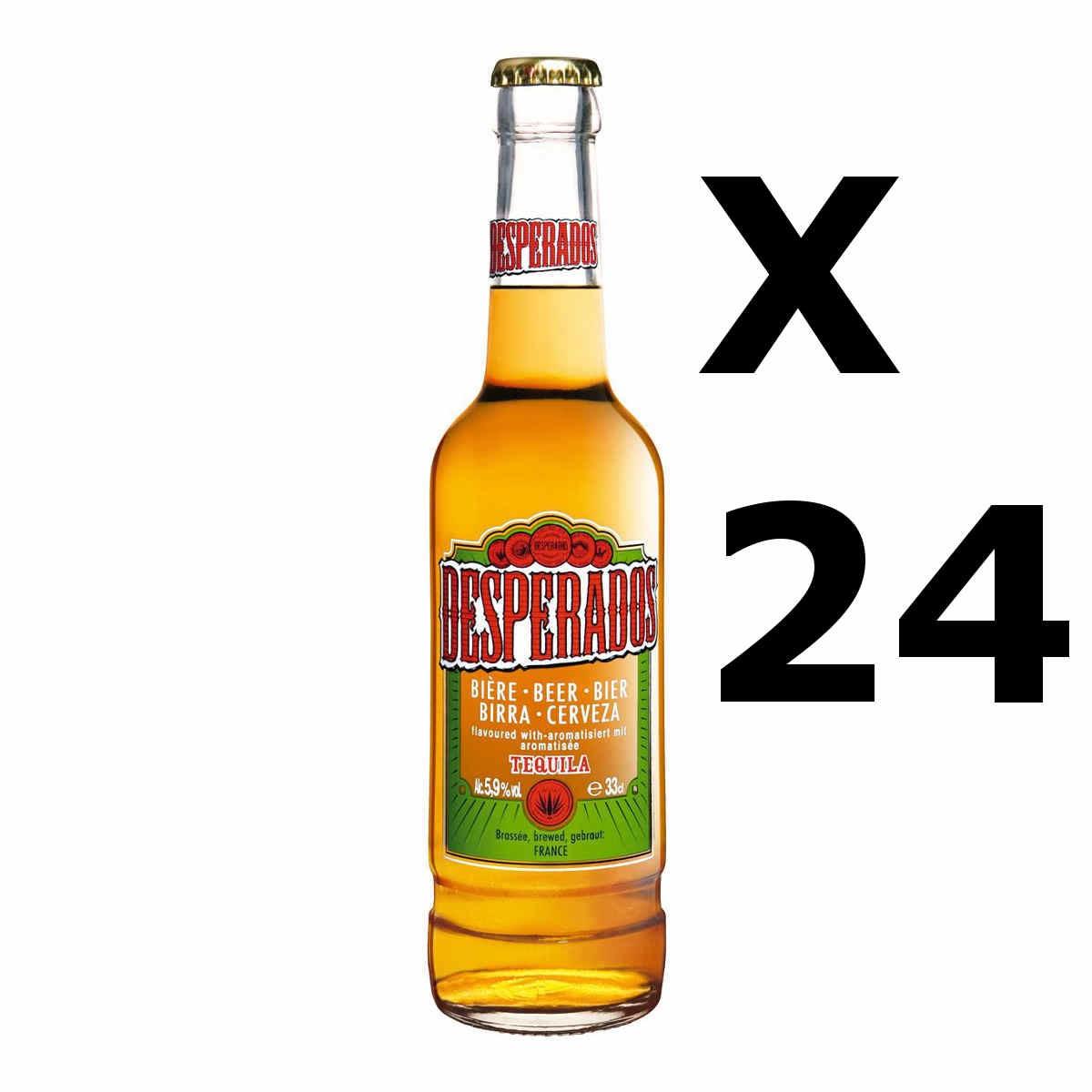 Birra desperados cl33 x 24 pz bibite bevande for Bottiglia in francese