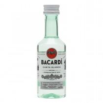 RUM BACARDI CARTA BLANCA SUPERIOR (BIANCO) MIGNON CL5