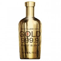 GIN GOLD 999.9 FINEST BLEND DISTILLED CL70