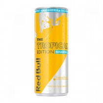 RED BULL ENERGY DRINK TROPICAL SENZA ZUCCHERO LATTINA CL25
