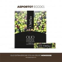 """MONODOSE OLIO EXTRAVERGINE DI OLIVA """"ORTUSO DRUPE"""""""