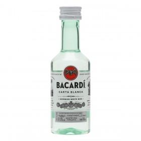 MIGNON RUM BACARDI CARTA BLANCA SUPERIOR (BIANCO) CL5
