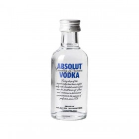 MIGNON VODKA ABSOLUT BLU CL5